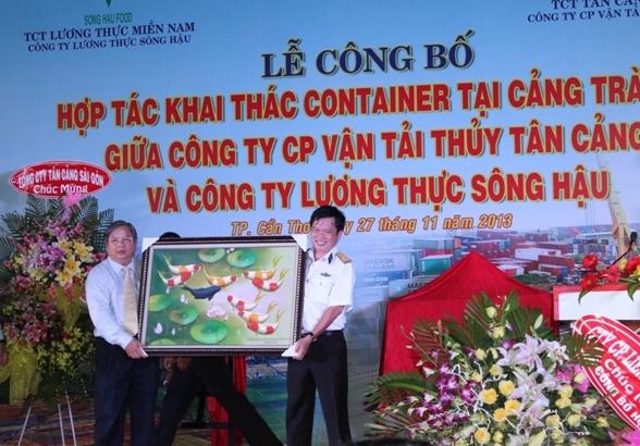 Saigon Newport Corporation Operates Container Handling At Tra Noc Port Can Tho City